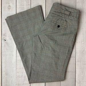 Loft plaid slacks career dress pants